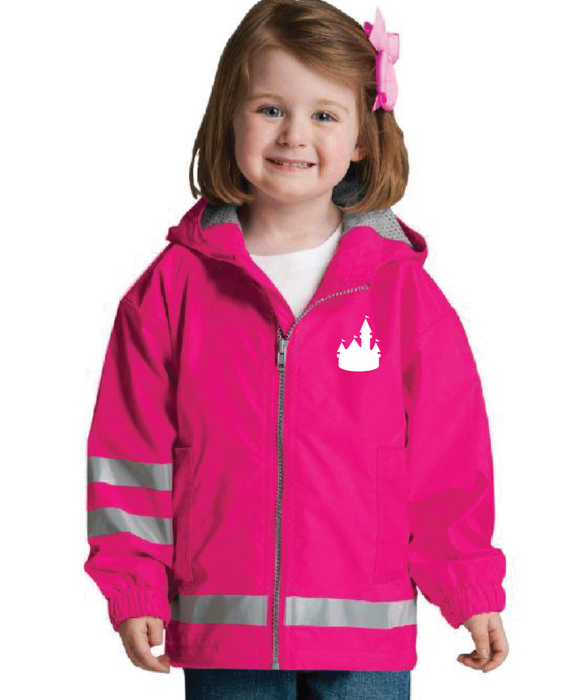 Toddler/Youth Full Zip New Englander Rain Jacket (Multiple Styles/Colors)