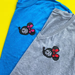 PLMouse Tee/V-Neck/Tank with Red Dot Fabric (Ships week of 7/26)