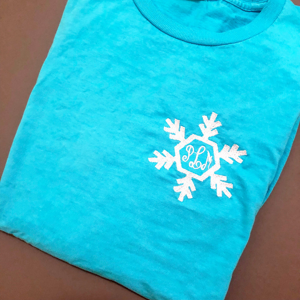 Snow Queen Monogram (Multiple Styles)