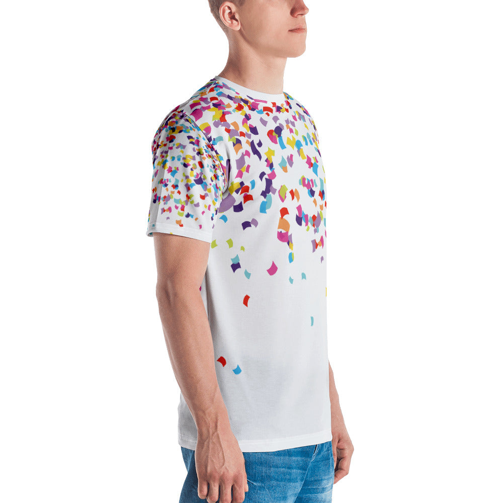 Confetti Party - Unisex Crew Tee (7 business day production time)