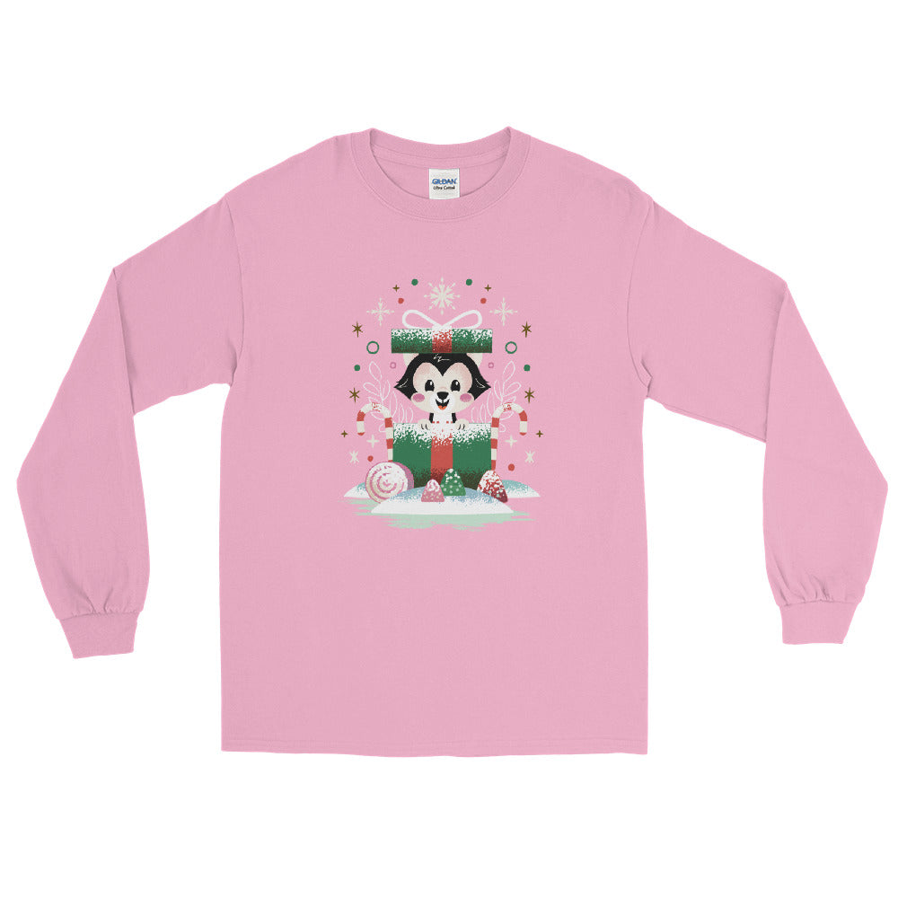 PLMerry Kitten Unisex Long Sleeve Tee (10 business day production time)