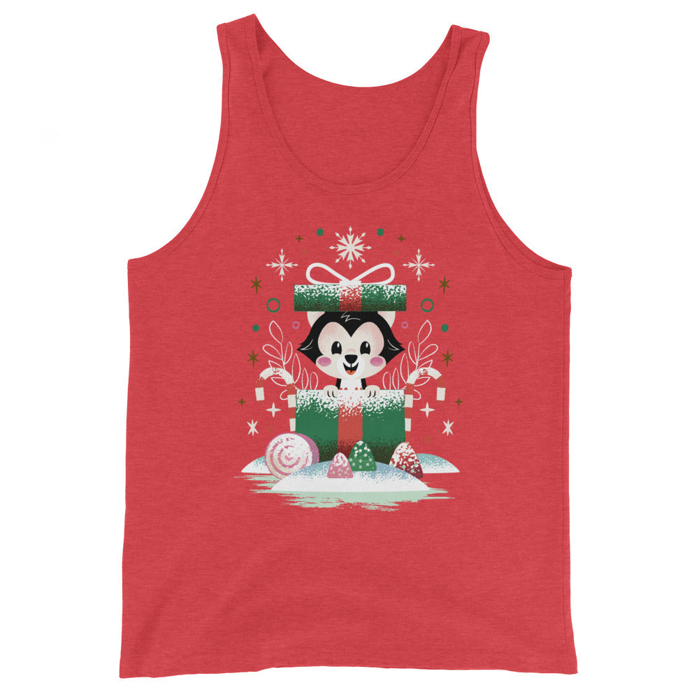 PLMerry Kitten Unisex Tank Top (10 business day production time)