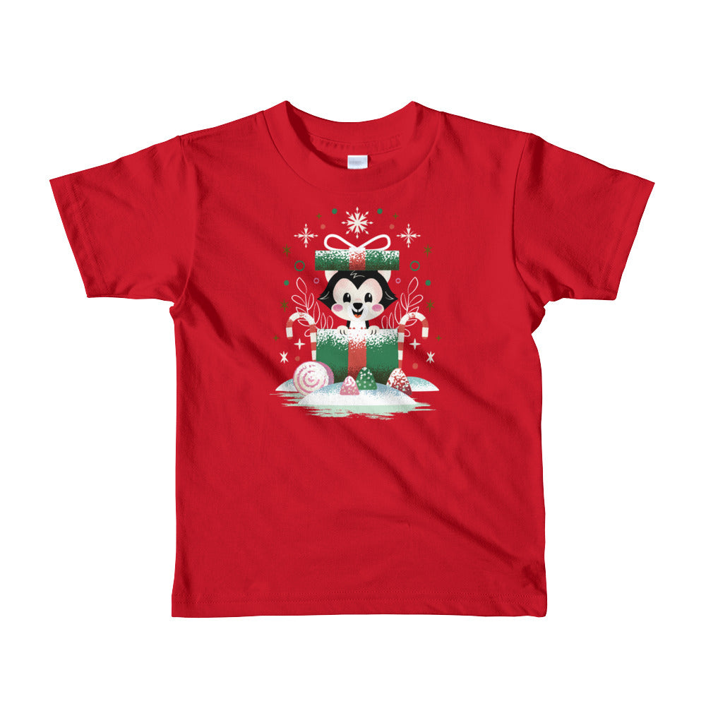PLMerry Kitten Junior Youth Tee- Size 2/4/6 (7 business day production time)