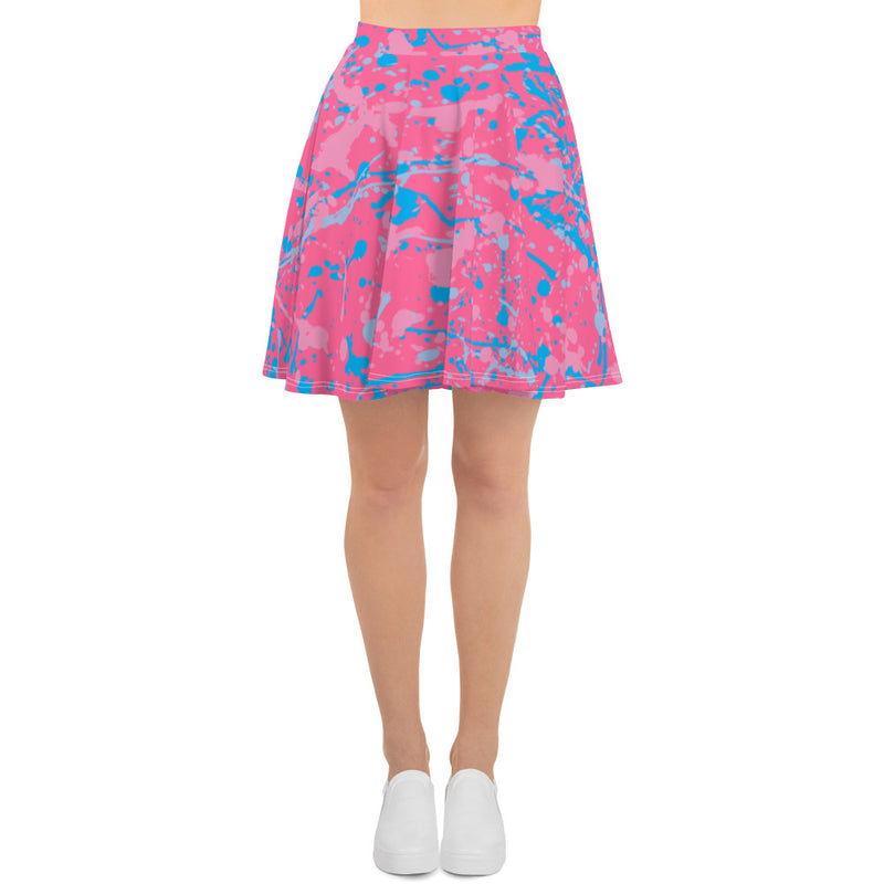 Make it Pink, Make it Blue Skater Skirt (7 business day production time)