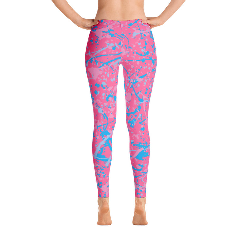 Make it Pink, Make it Blue Leggings - Full Length (7 business day production time)