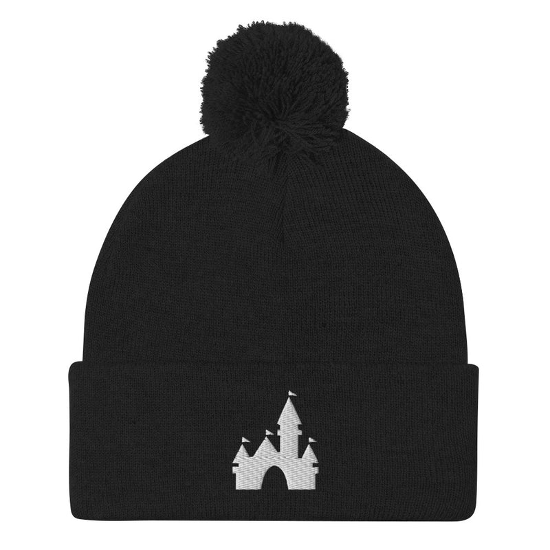 Castle Pom-Pom Beanie (7 business day production time)