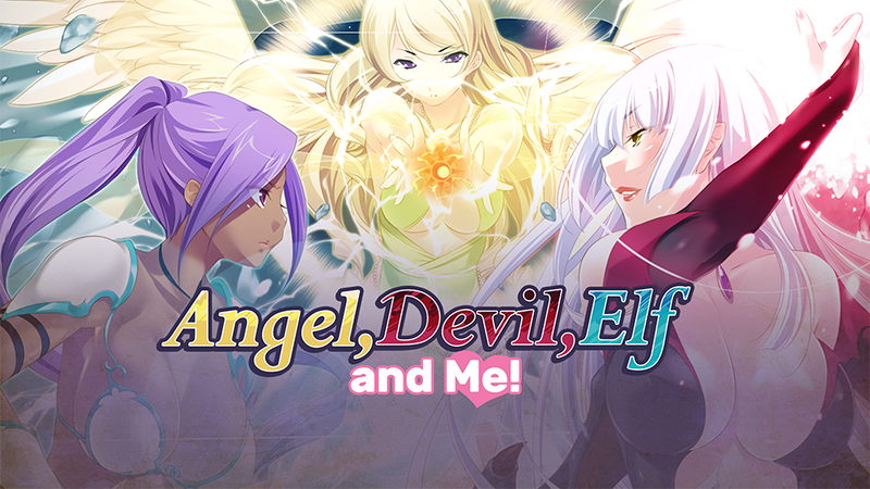 Angel, Devil, Elf and Me!
