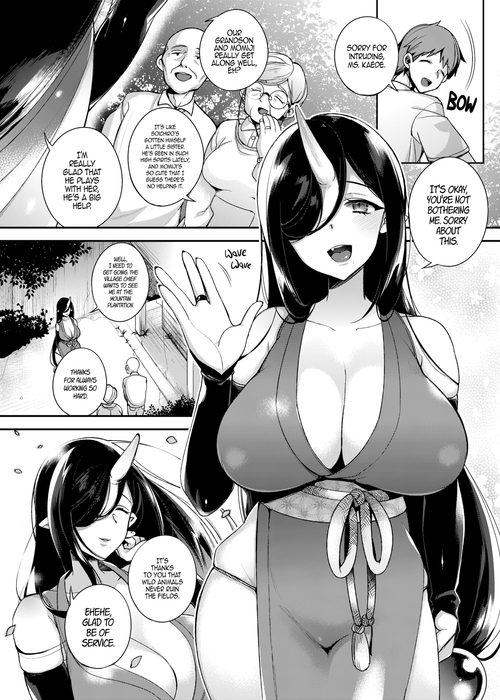 Mating with Oni ~Daughter Chapter~