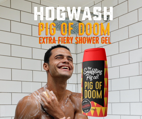Hogwash Snaffling Pig Pig of Doom Shower gel