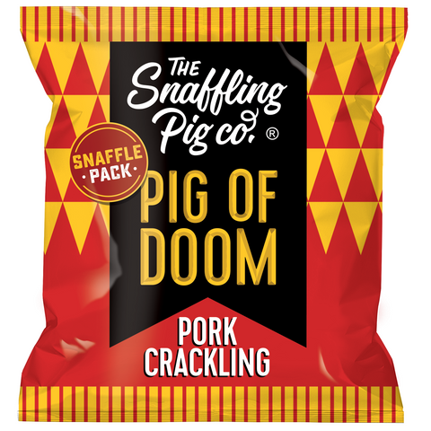 Pig of Doom Pork Crackling Packets
