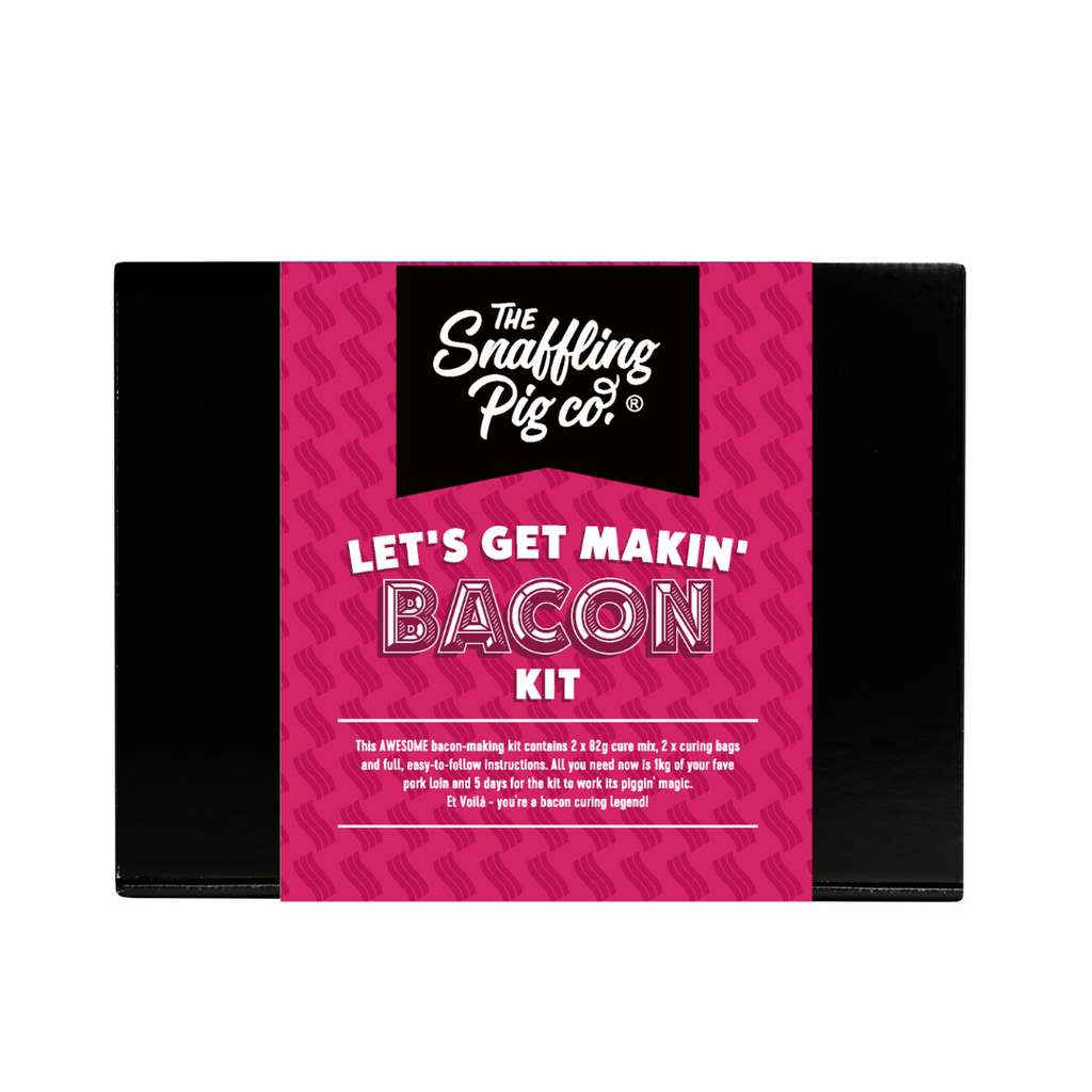 Let's Get Makin' Bacon - A Make-Your-Own Bacon Kit