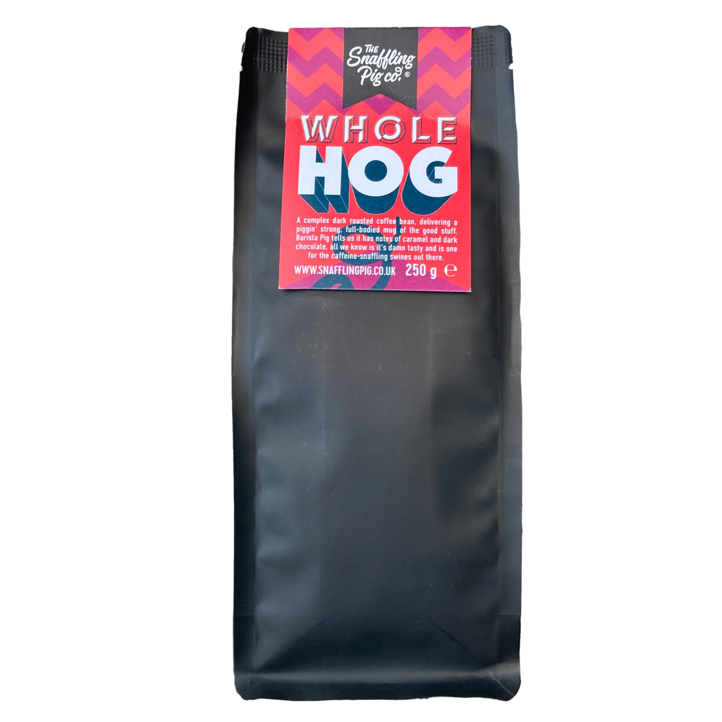 Monthly Subscription of Whole Hog Coffee Beans (Whole Bean Coffee)