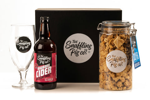 Cider & Glass Pork Crackling Gift Pack