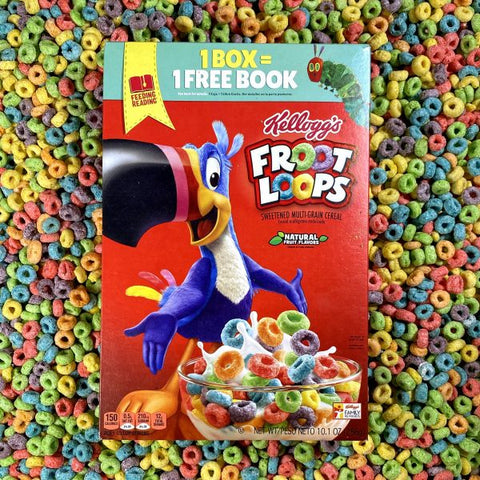 Froot Loops Breakfast Cereal