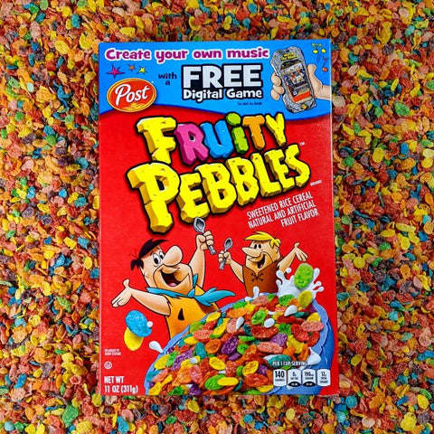 Fruity Pebbles Breakfast Cereal