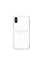 Aaliyah Jay: It Girl Script Phone Case