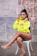 Aaliyah Jay: Limited Edition Neon It Girl Hoodie