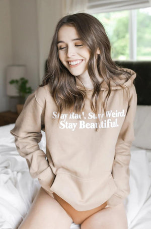 Acacia Kersey: Stay Rad, Stay Weird, Stay Beautiful Hoodie