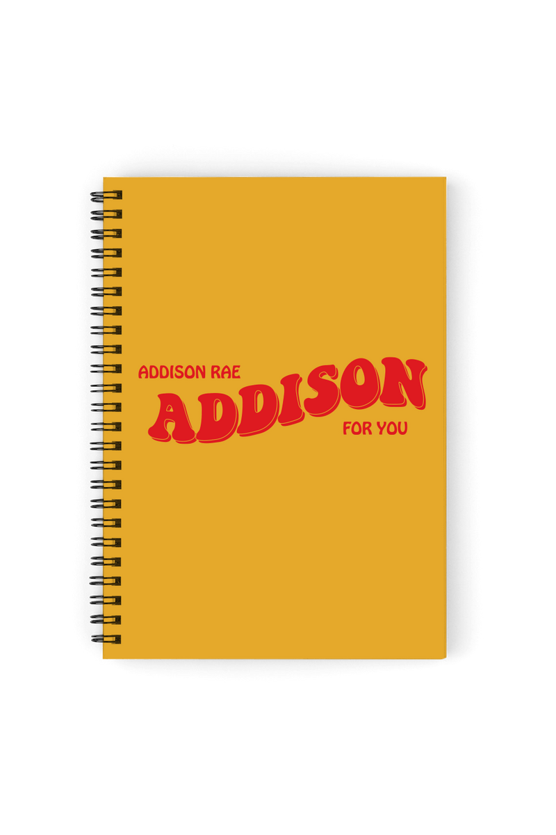 Addison Rae: Addison Notebook