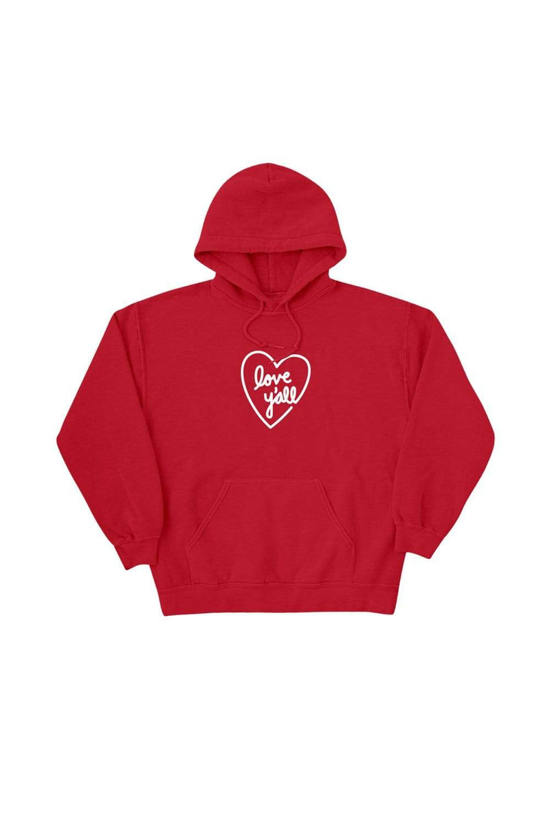 Addison Rae: Love Y'all Red Hoodie