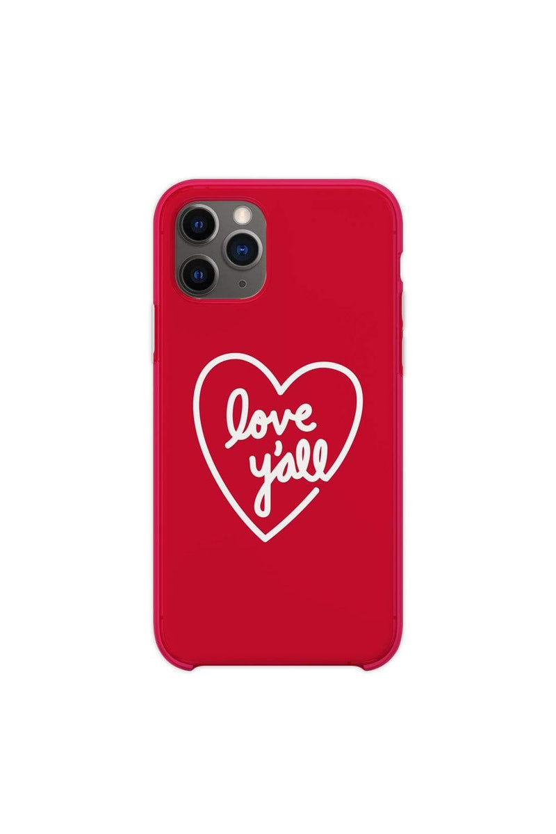 Addison Rae: Love Y'all Red Phone Case