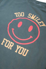 Addison Rae: Too Smiley For You Green Crewneck