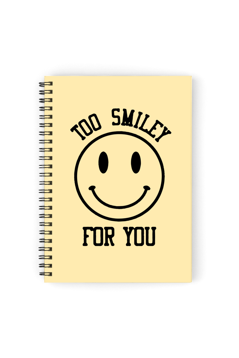 Addison Rae: Too Smiley Notebook