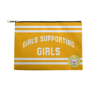 Adelaine Morin 'Girls Supporting Girls' Accessories Pouch