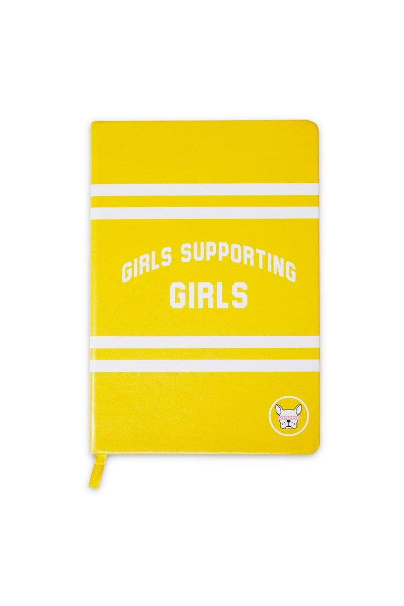 Adelaine Morin 'Girls Supporting Girls' Hardcover Bullet Journal Notebook