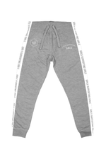 ADELAINE MORIN GIRLS SUPPORTING GIRLS HEATHER GREY TRACKSUIT JOGGERS
