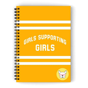 Adelaine Morin 'Girls Supporting Girls' Notebook