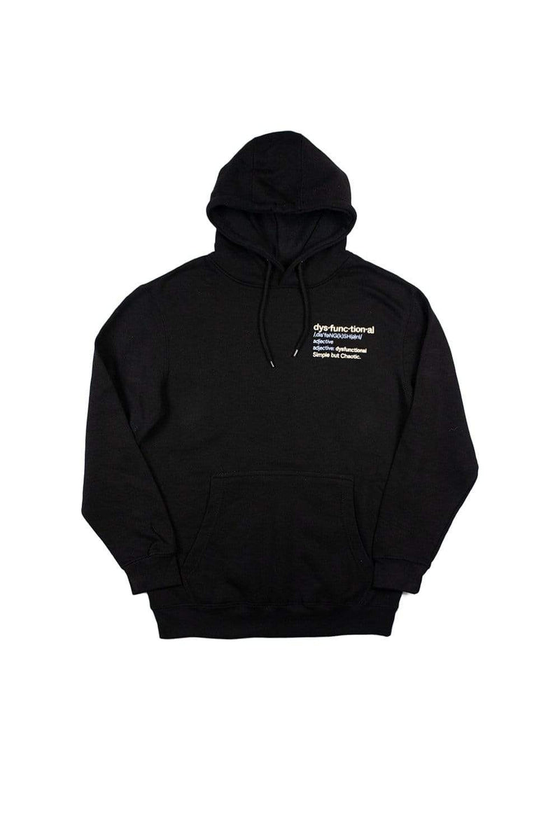 Alex Warren: Dysfunctional Defintion Black Hoodie