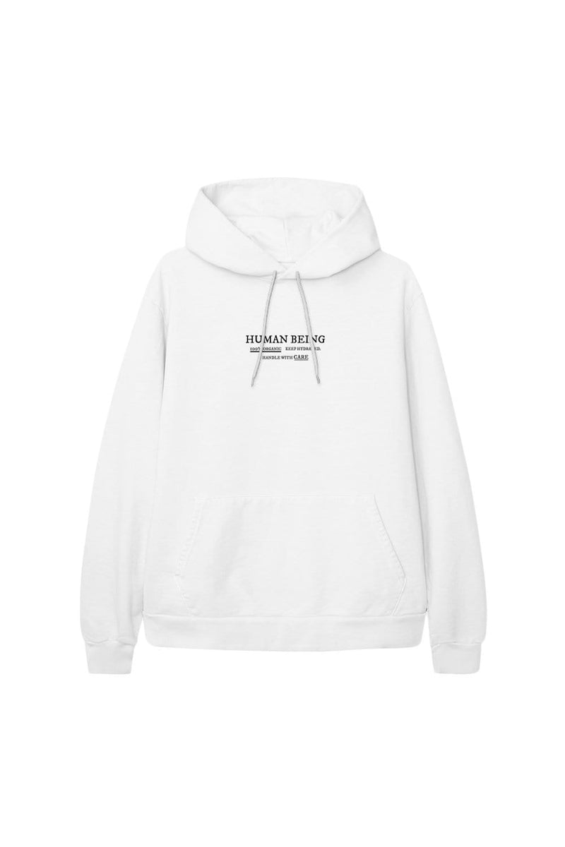 Alivia D'Andrea: Human Being White Hoodie