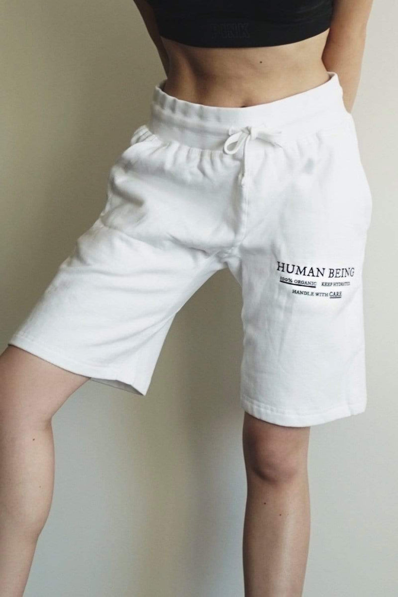 Alivia D'Andrea: Human Being White Shorts