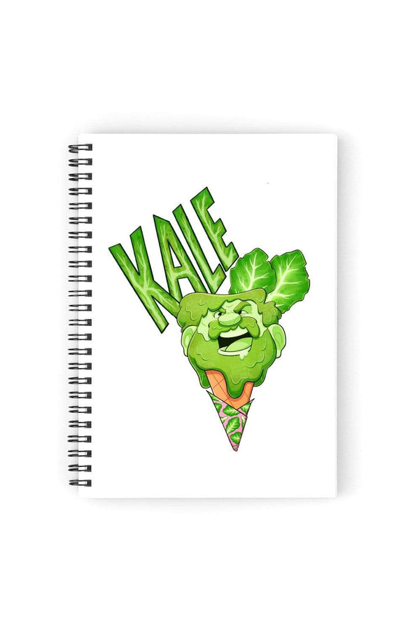 Audity Draws: Kale Notebook