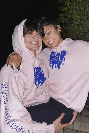 Avani 'If You Don't Love Me' Pink Hoodie