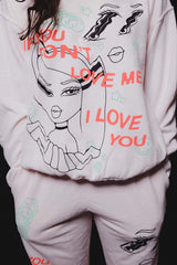Avani: 'If You Don't Love Me' Sand Crewneck