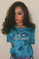 Avani 'If You Don't Love Me' Tie Dye Shirt