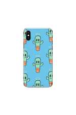 Ben of the Week 'My Cactus Died' Blue Phone Case