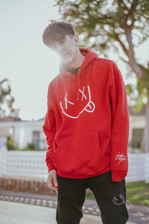 Bobby Mares XXSmiley Red Hoodie