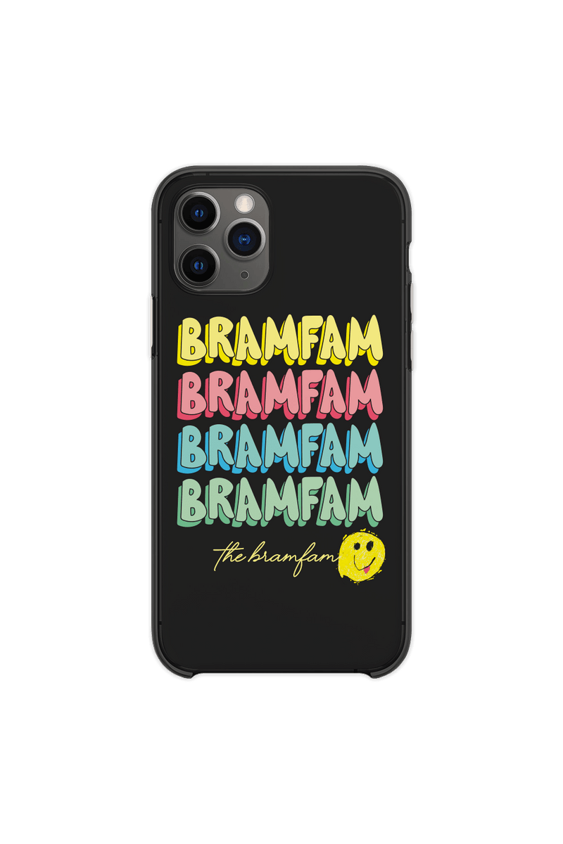 Bramfam Black Phone Case
