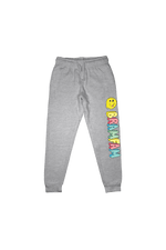 Bramty 'BramFam Smiles' Heather Grey Joggers