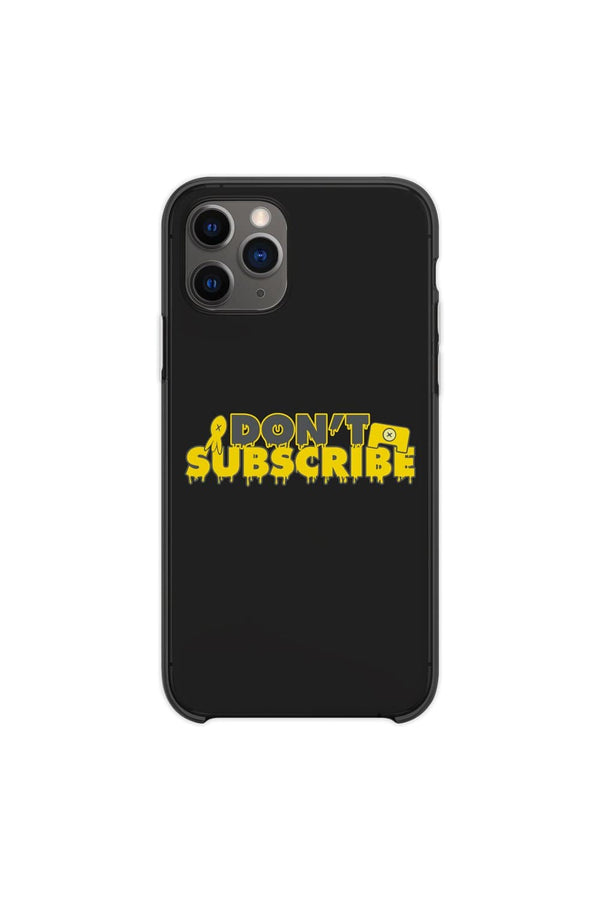 Calvin and Pat: Don't Subscribe Black Phone Case