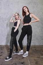 Cande: Black Joggers
