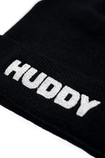 Chase Hudson 'HUDDY' Embroidered Black Beanie