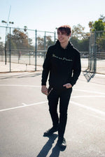 Colby Brock: Now or Never Gold Script Hoodie