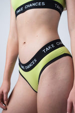 COLBY BROCK: SUMMER EDITON WOMEN'S TAKE CHANCES 3-PIECE UNDERWEAR SET