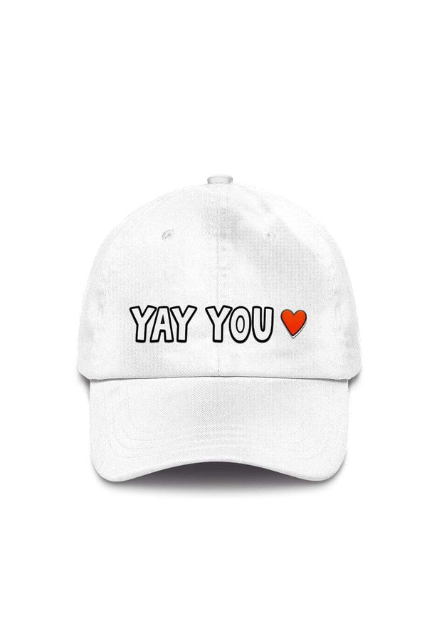Color Me Courtney: White Positivity Hat