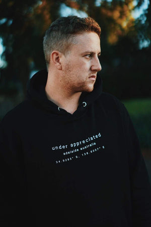 Under Appreciated Coordinates Hoodie