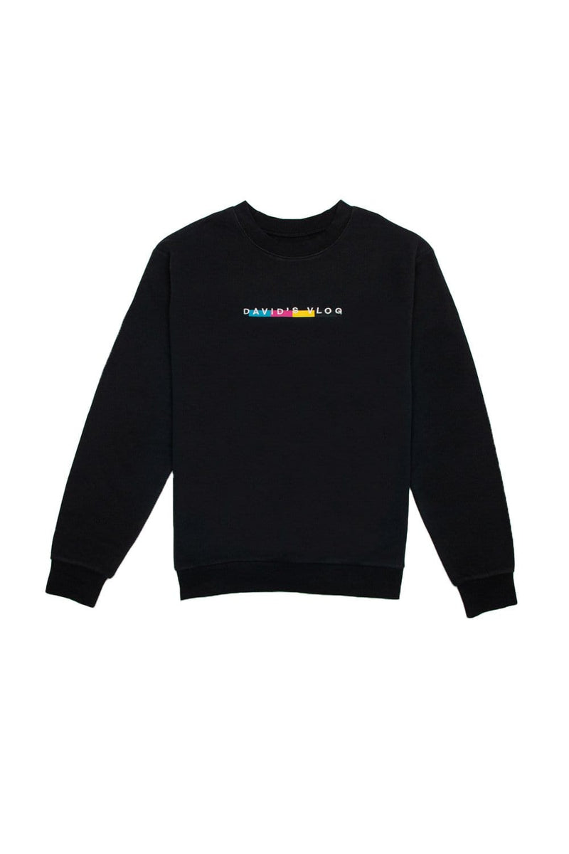 David Dobrik: Beverly 2.0 Black Crewneck